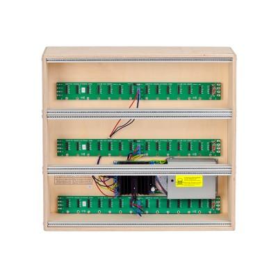 Doepfer 3x84HP 9U low cost cabinet